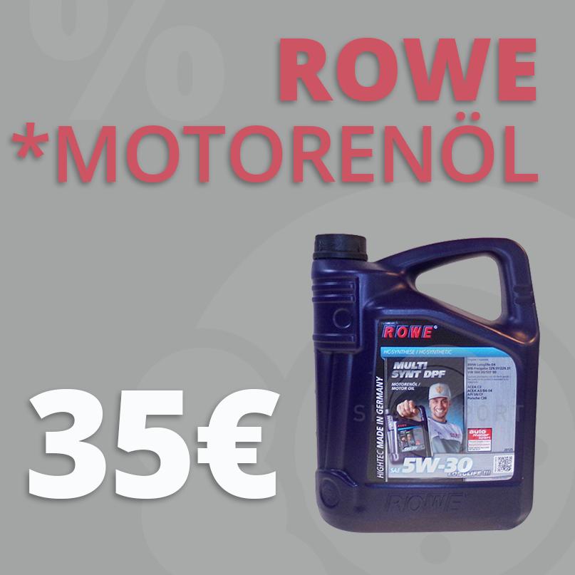 ROWE Motorenöl